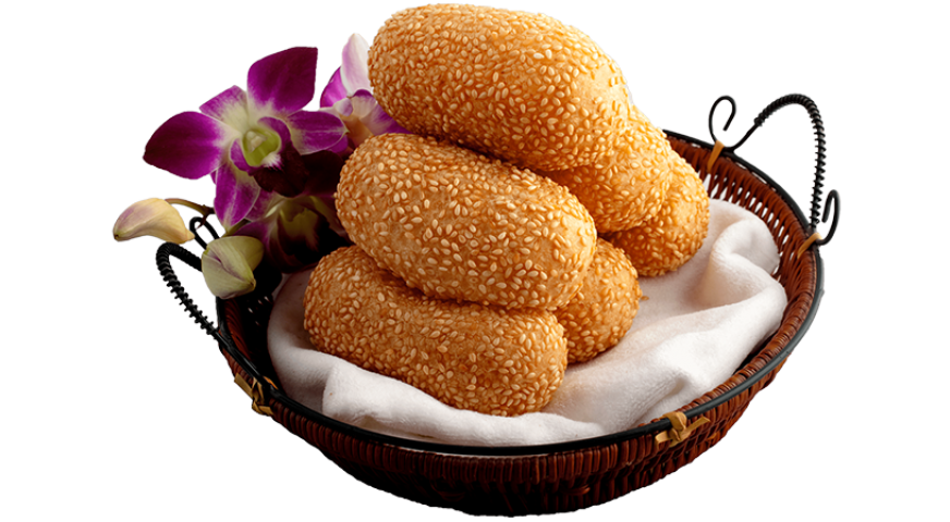 Yellow Bean Sesame Ball