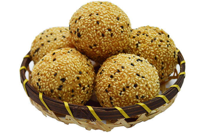 Red Bean Sesame Ball
